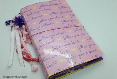 Positivelypapercraft Travellers notebook tutorial
