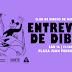 Montevideo: Entrevero de dibujo en la Plaza Fabini