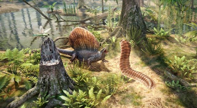 loài chân đốt Arthropleura tiền sử
