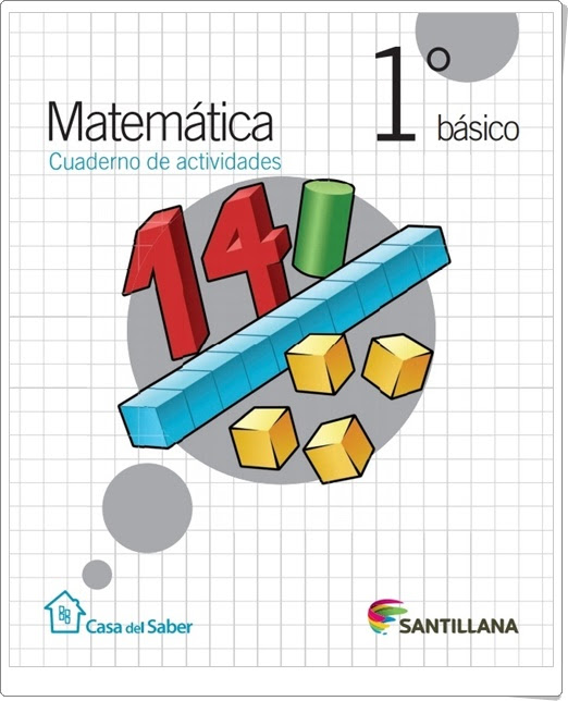 """""""Cuaderno de Matemáticas"""" (1º de Primaria. Santillana)"""