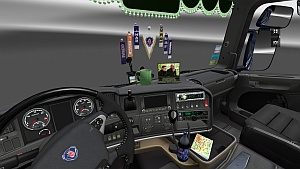 Scania Streamline interior by Winston