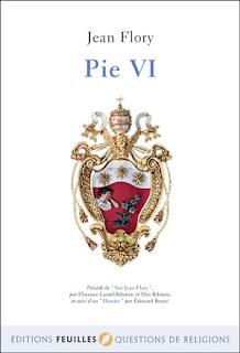Jean Flory biographie pape Pie VI