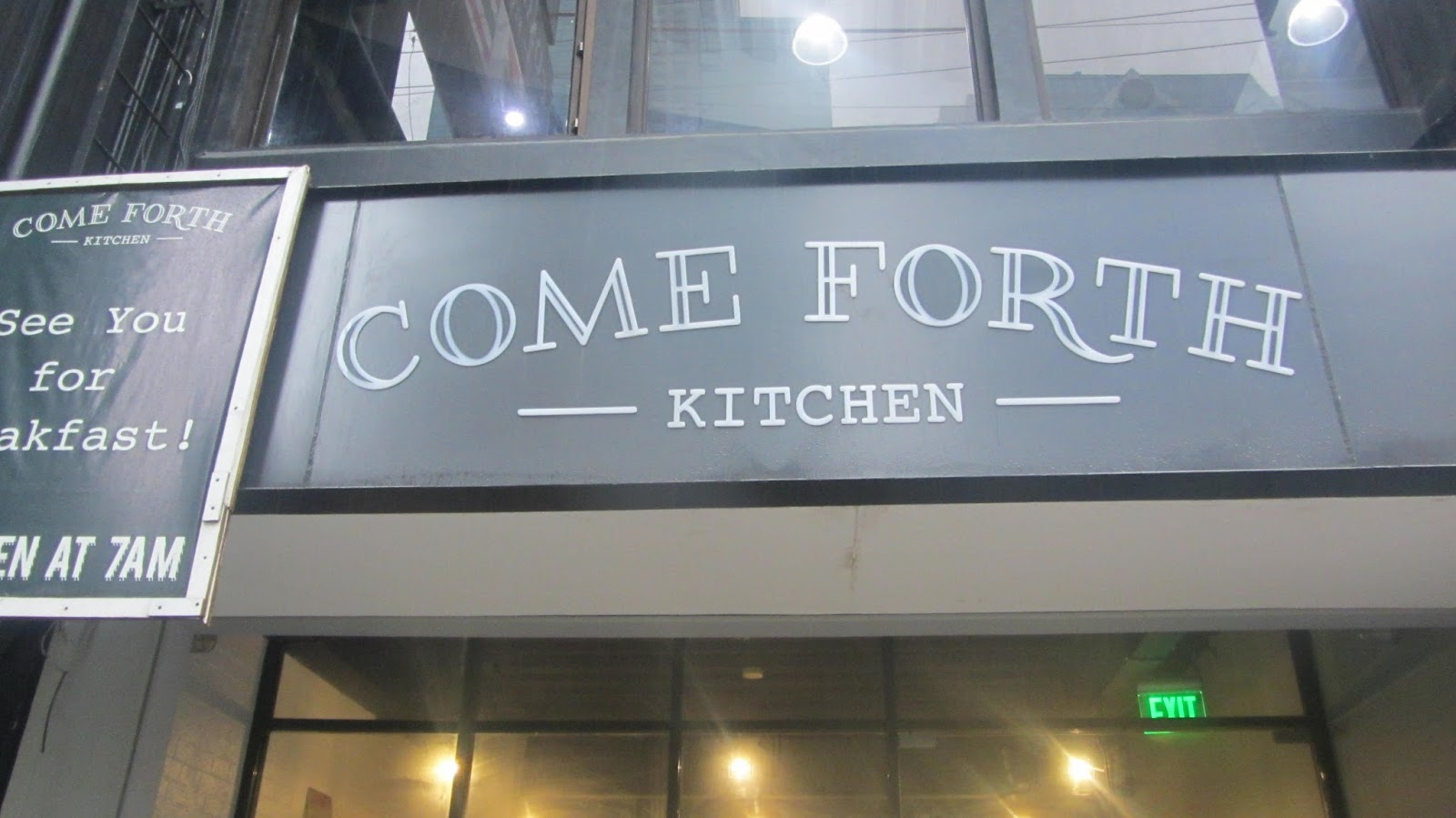 Come Forth Kitchen at Jupiter Street | walkandeat