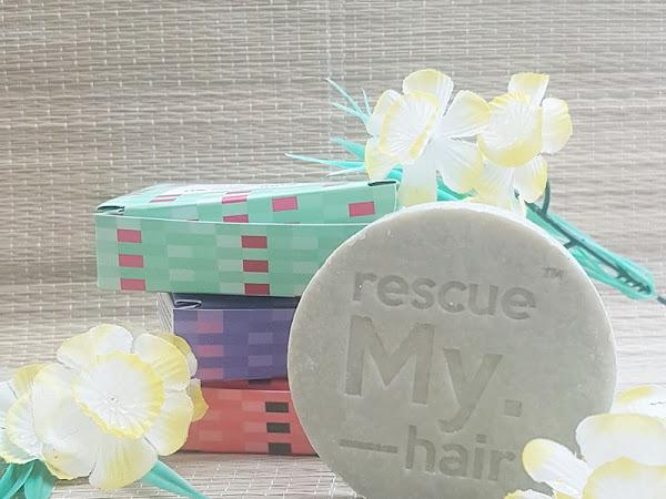 Bye Bye Bottles - My.Haircare Shampoo Bar Review