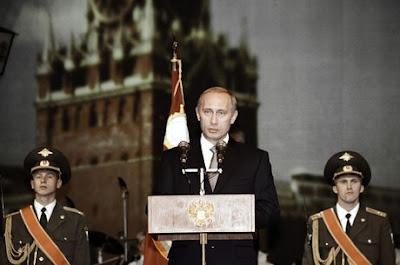 Vladimir Putin. President of Russia.