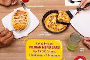 Pizza Hut Promo Paket Sensasi Pilihan Menu Baru Rp.35.000/Orang 1 Makanan + 1 Minuman