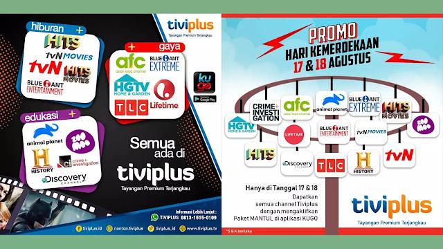 promo paket siaran Tiviplus Ninmedia terbaru