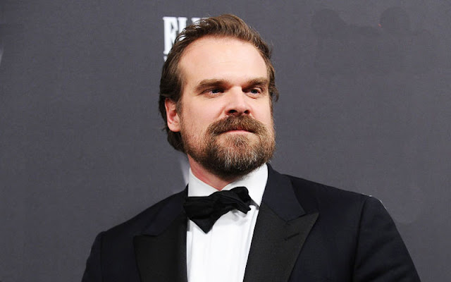 Stranger Things Star David Harbour Is the New Hellboy