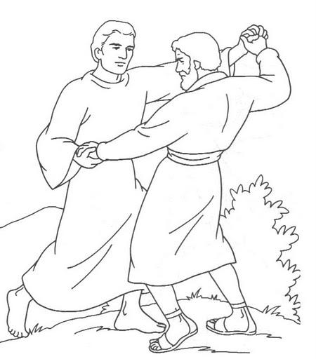 DESENHOS BÍBLICOS PARA COLORIR PINTAR IMPRIMIR I