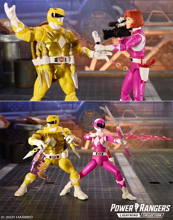 Power Rangers x Teenage Mutant Ninja Turtles Lightning Collection