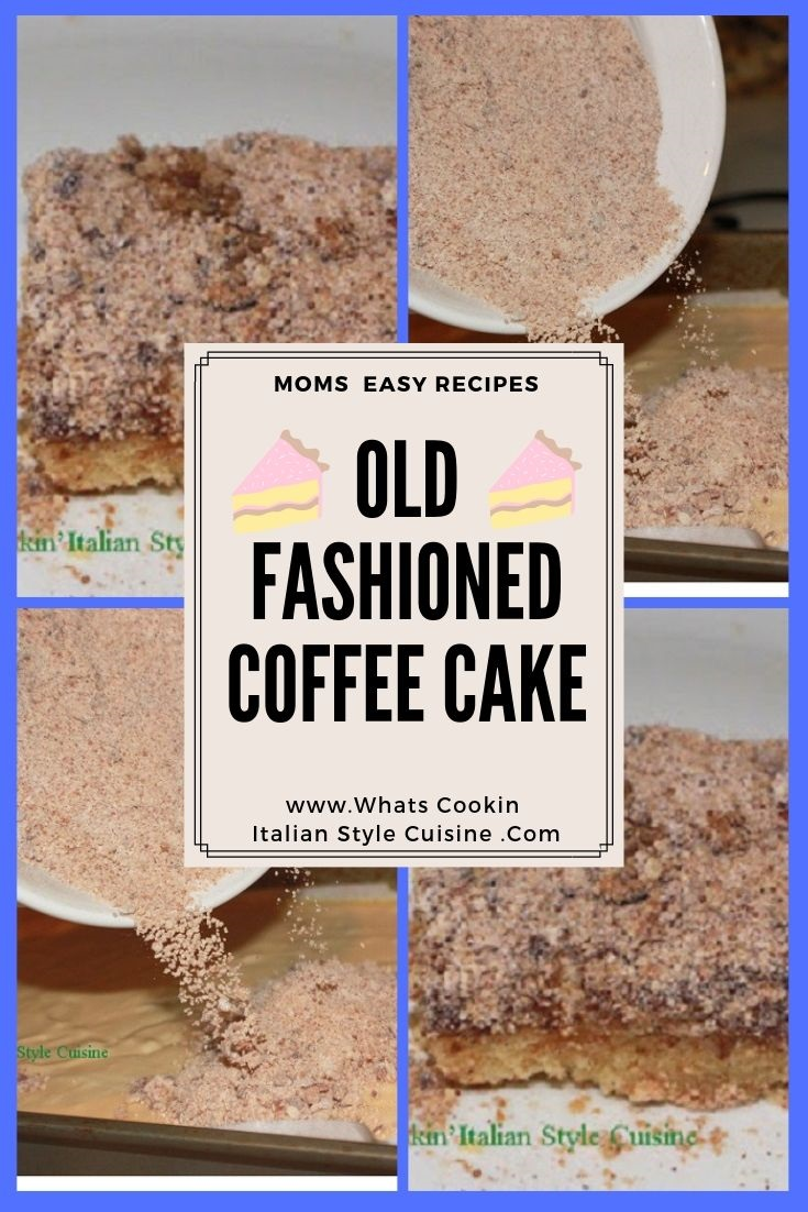 Here are two recipes on a pin for later for sour cream coffee cake and oat flour coffee old fashioned recipes