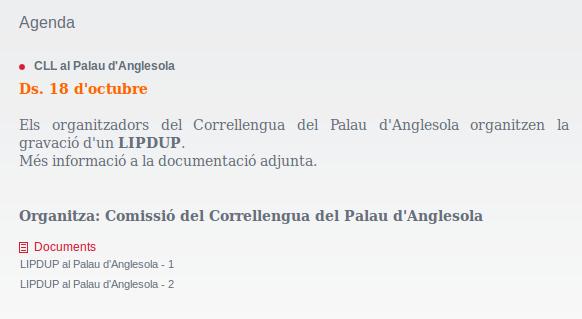 http://www.cal.cat/agenda_detalle.aspx?id=1188&utm_source=Butllet%C3%AD+Correllengua&utm_campaign=7889d8c995-Butlleti_Correllengua_2014&utm_medium=email&utm_term=0_d0c6efc97a-7889d8c995-17885757
