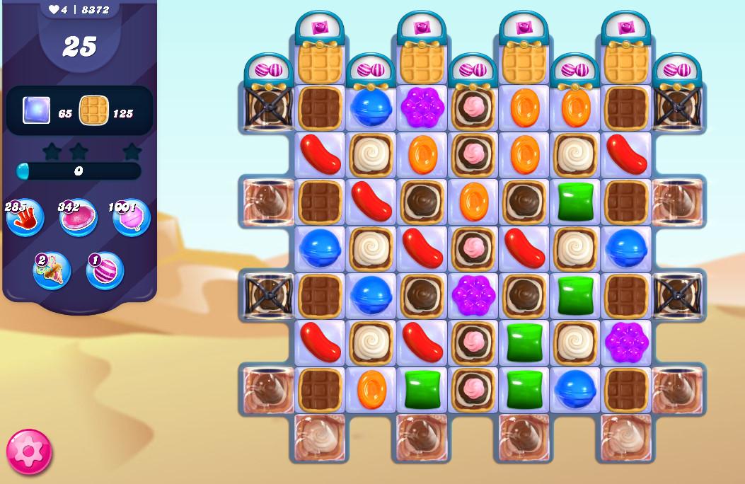 Candy Crush Saga level 8372