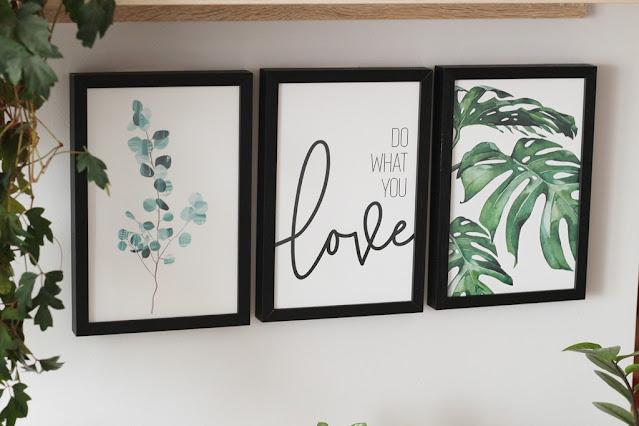 plakaty botaniczne zestaw