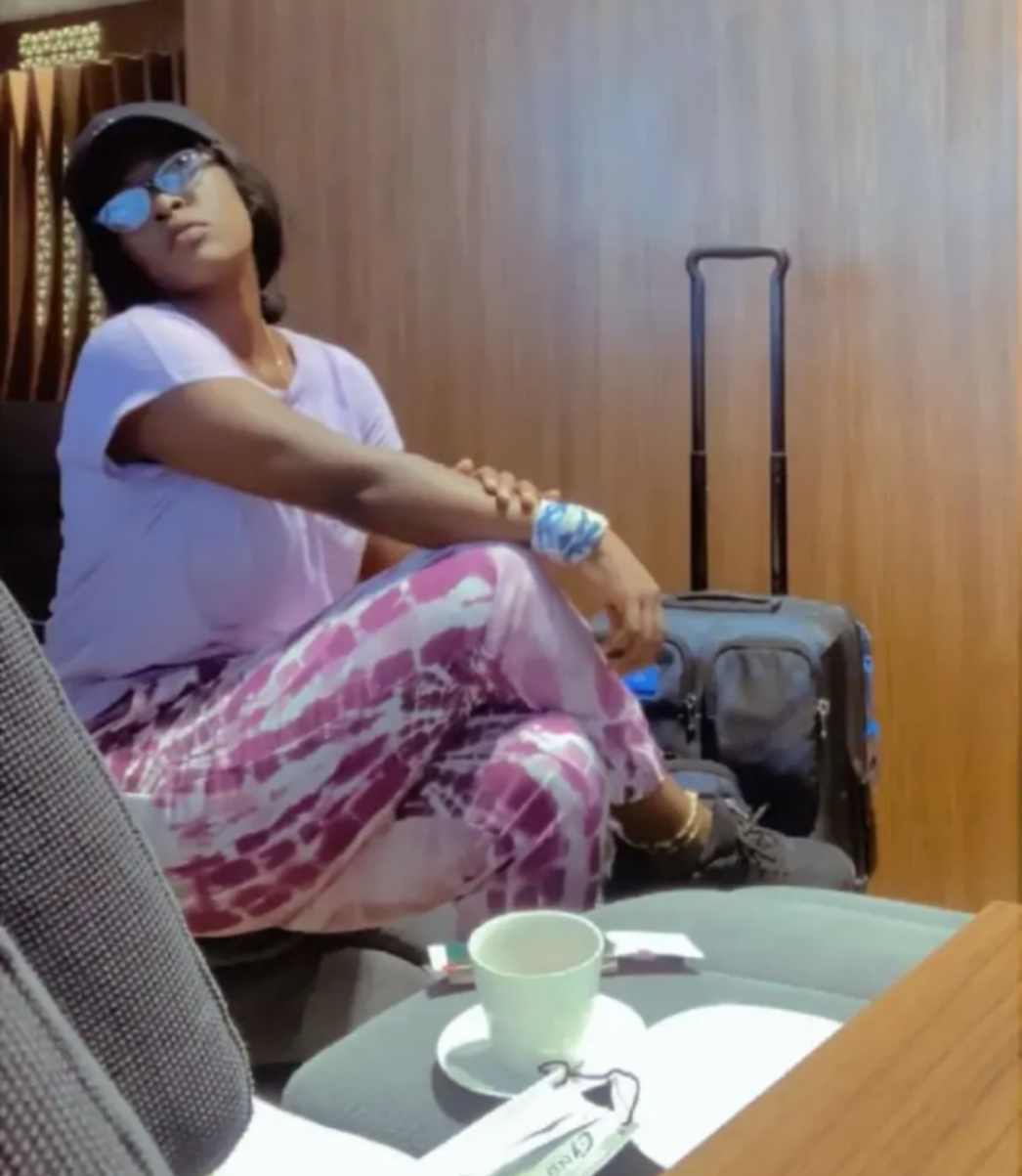 Battle Of Beauty: Nafisa Abdullahi is back with Lovely Pictures, Snapped In Dubai