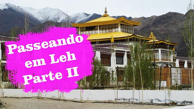 Passeando pelo centro de Leh, em vídeo - Parte II