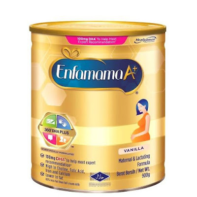 Susu formula Enfamama A+