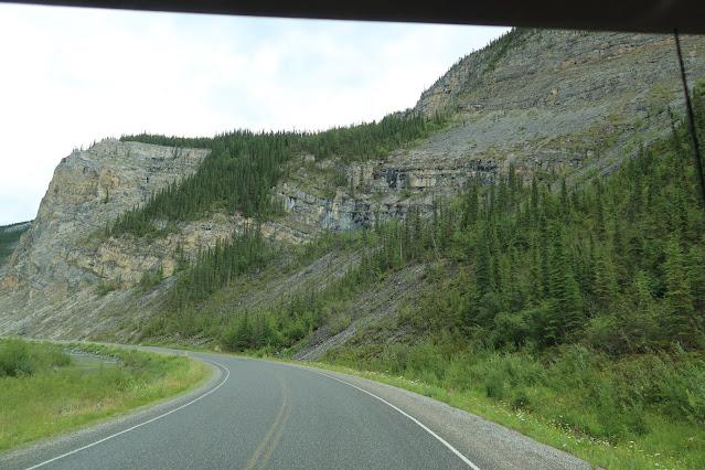 Alaska Highway scenic view