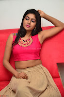 Akshita super cute Pink Choli at south indian thalis and filmy breakfast in Filmy Junction inaguration by Gopichand ~  Exclusive 099.JPG