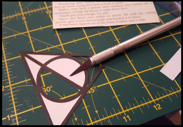 Cutting out the Dealthy Hallows