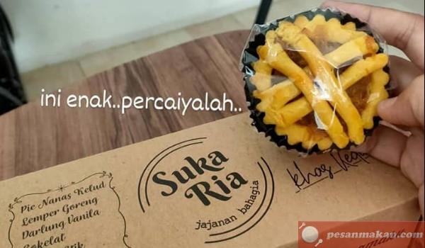 Review Harga Pie Nanas Kelud Sukaria, Pie Nanas Asli Kediri Tanpa Bahan Pengawet