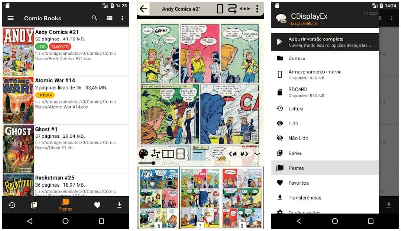 CDisplayEx Free Comic Reader