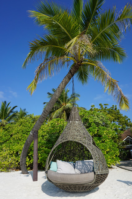 Maldives hanging chair