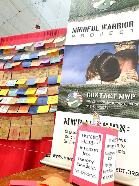 LA Fleet Week 2019 LA Waterfront San Pedro Port of Los Angeles, California Mindful Warrior Project Homeless Veterans Handmade Cards for Lunches