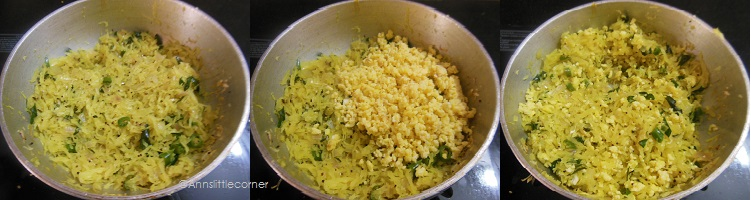 How to make Cabbage Egg Stir Fry - Step 4