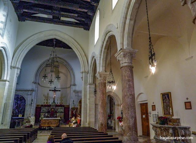 Altar-mor da Catedral de Taormina