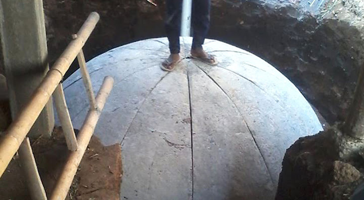 digester biogas di dusun brau