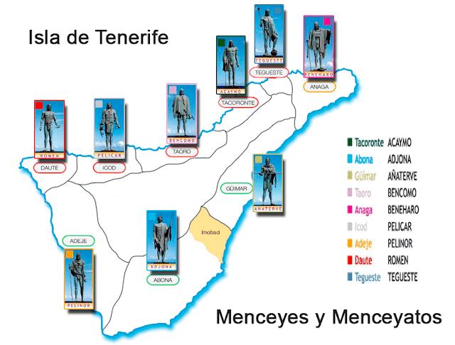 Menceyatos de Tenerife antes y durante la conquista castellana