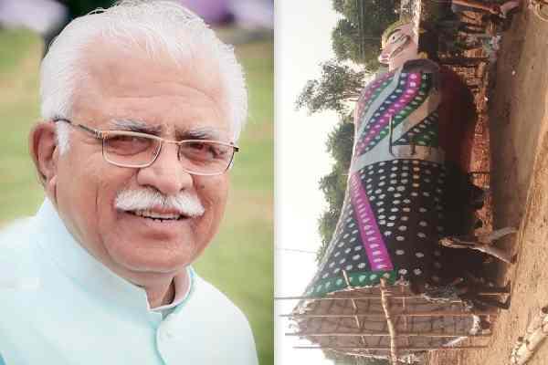 cm-manohar-lal-khattar-will-celebrate-faridabad-dussehra-ground