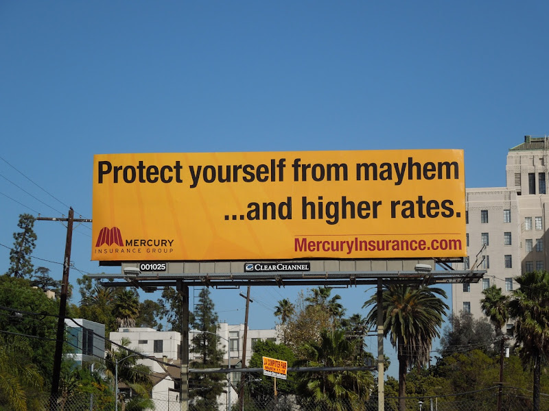 Mercury mayhem billboard