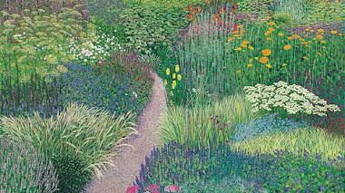 Jardines pintados por Susan Entwistle