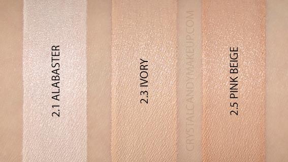 anti-cernes Matte Velvet Skin Make Up For Ever avis revue swatch