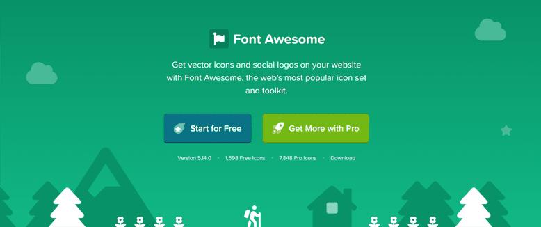 Cài đặt và sử dụng Font Awesome mới nhất cho Blog/Website