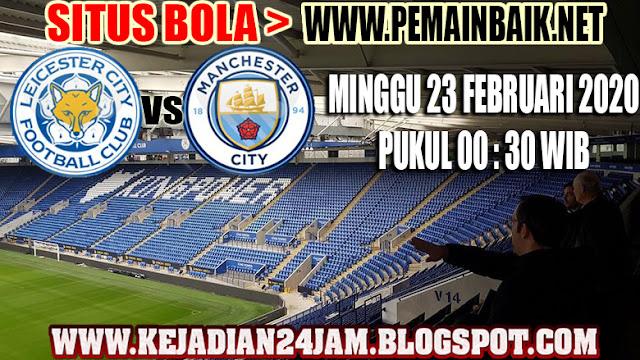 Prediksi Pertandingan Leicester City Vs Manchester City Pekan Ke 27