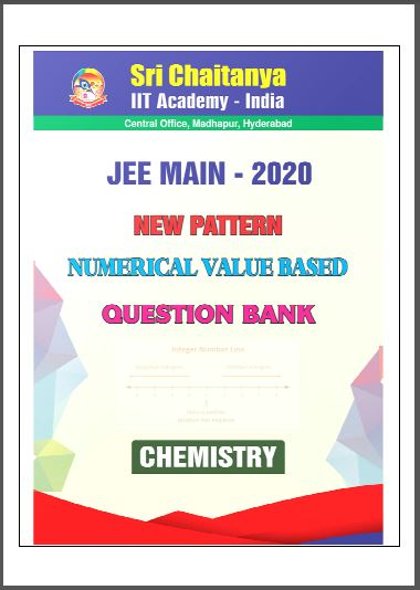 JEE Main-2020 New Pattern Chemistry Question Bank : for JEE Exam PDF Book