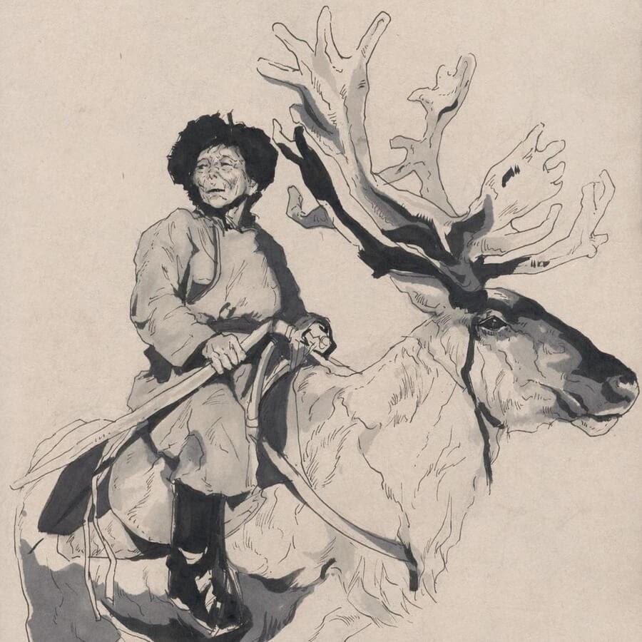 08-The-reindeer-rider-Llin-www-designstack-co