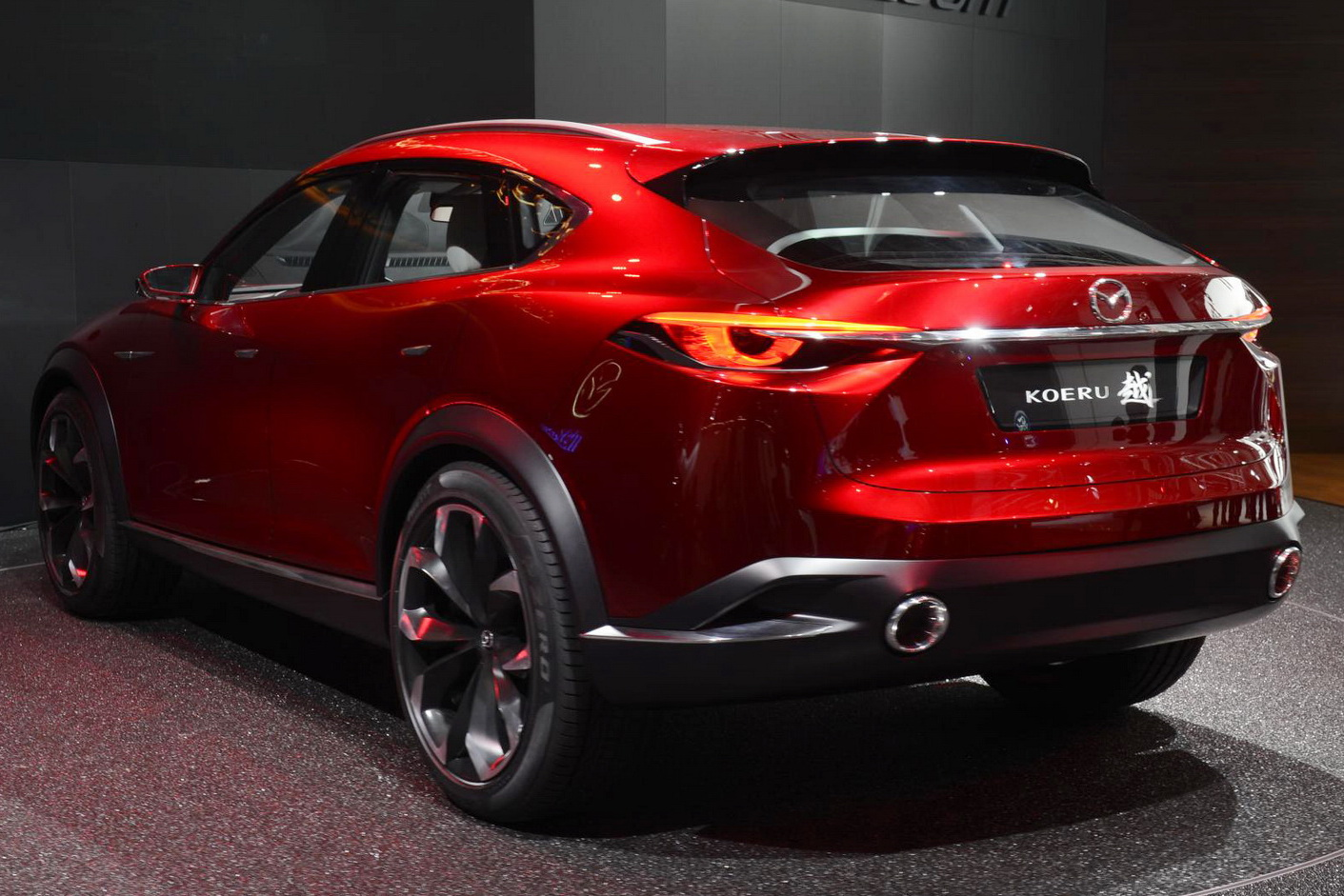 visual comparison: mazda cx-4 vs koeru concept
