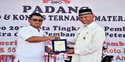 Kota Padang ditunjuk Gelar Livestock Expo