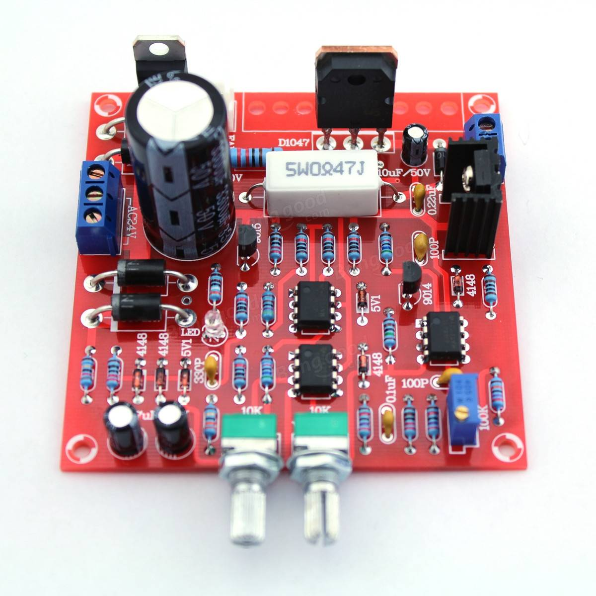 Ea4eoz An Amateur Radio Electronic Enthusiast Considerations About Adjustable Voltage Regulator 3 Ampere The Lm350k Has A Fixed Current Limit Around 2 Amps But Usually That Is Just Too Much For Prototype Many Times When Something Went
