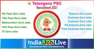 telangana-psc-recruitment-tspsc-indiajoblive.com