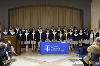 Montgomery Catholic's Loretto Chapter of National Honor Society Welcomes New Members 2