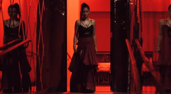 Maja Salvador is on rage in magazine's fashion film