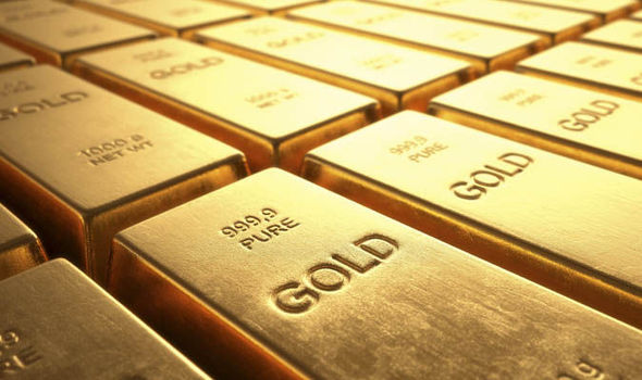 El oro baja