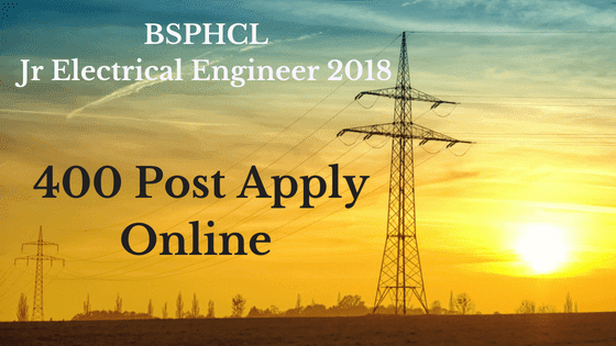 bsphcl recruitment electrical engineering