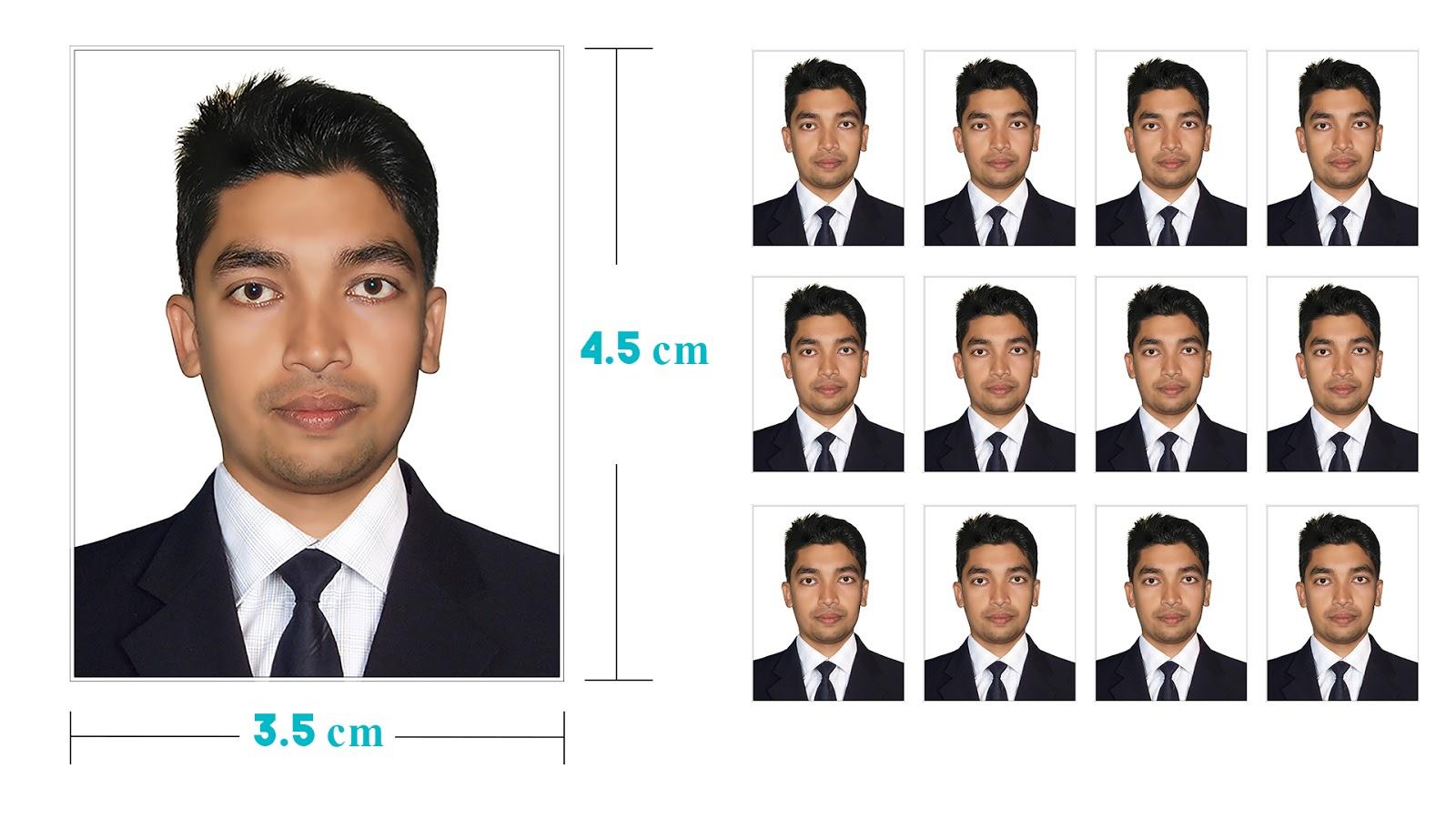 best way to create passport size photo in photoshop
