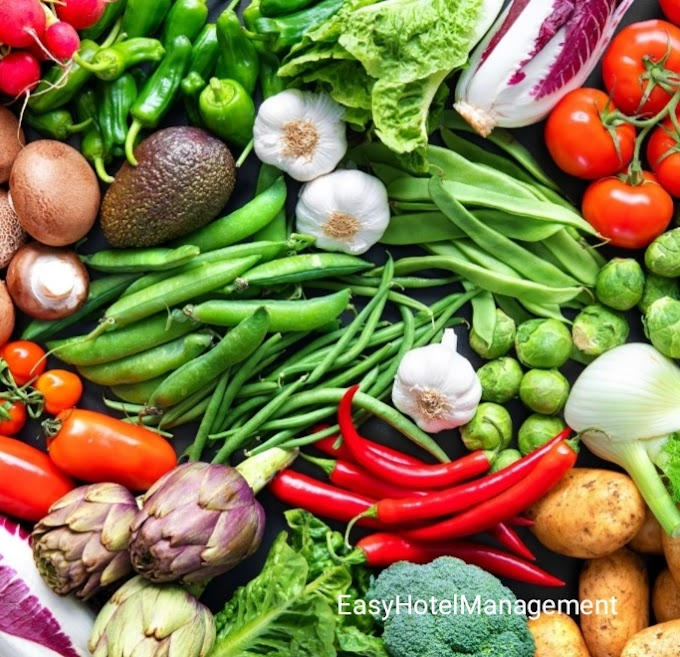 Guidelines In Vegetables Cookery